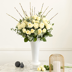 Bouquet de fleurs Pureté Mariage invité
