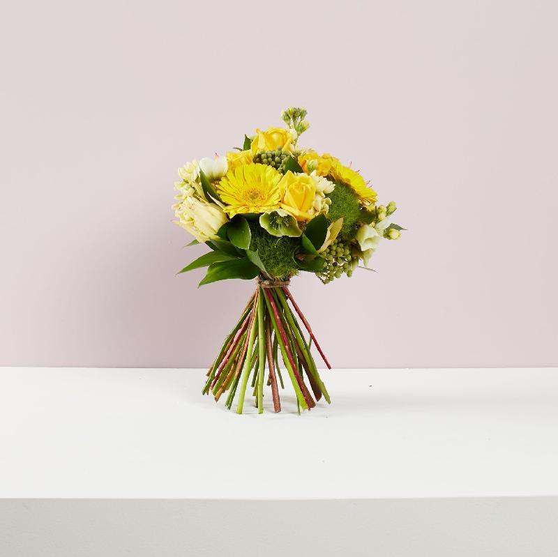 Bouquet de fleurs Lime Zest Wrapped