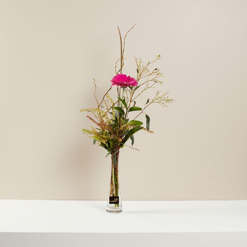 Bouquet de fleurs Single Flower in vase