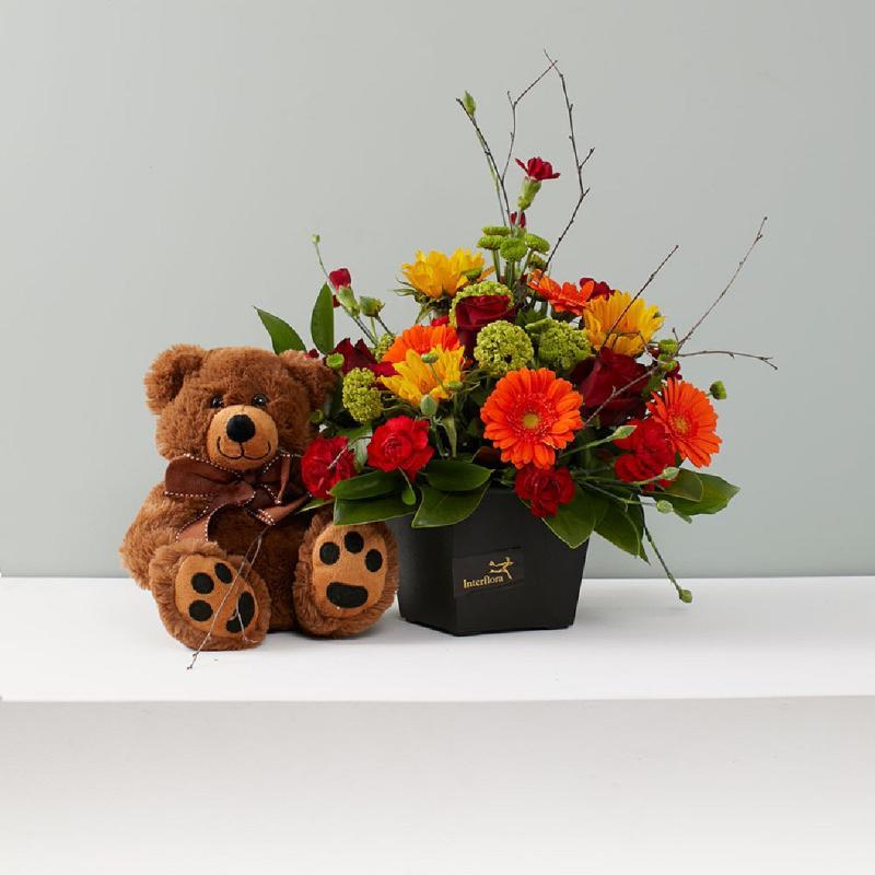 Bouquet de fleurs Snuggles