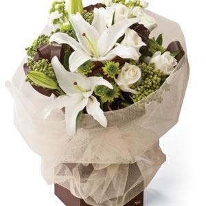 Bouquet de fleurs Latte