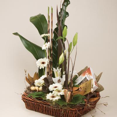 Bouquet de fleurs Chocolate Addiction