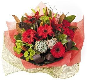 Bouquet de fleurs Winter Bouquet/Claret