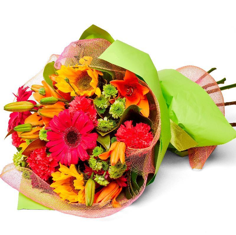Bouquet de fleurs Carnival