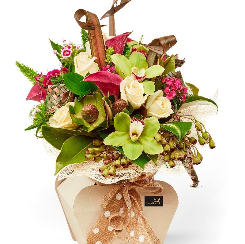 Bouquet de fleurs Raglan