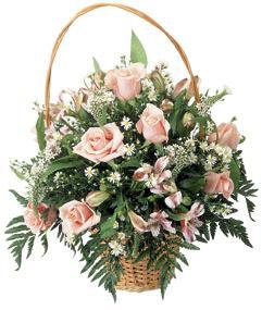 """Bouquet de fleurs Basket Arrangement """"Sweet Dreams"""""""