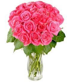 "Bouquet de fleurs Bunch of Pink Roses ""Rosy Reveries"" (without vase)"