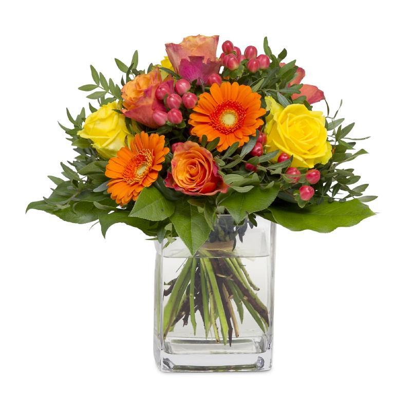 Bouquet de fleurs Autumn motive