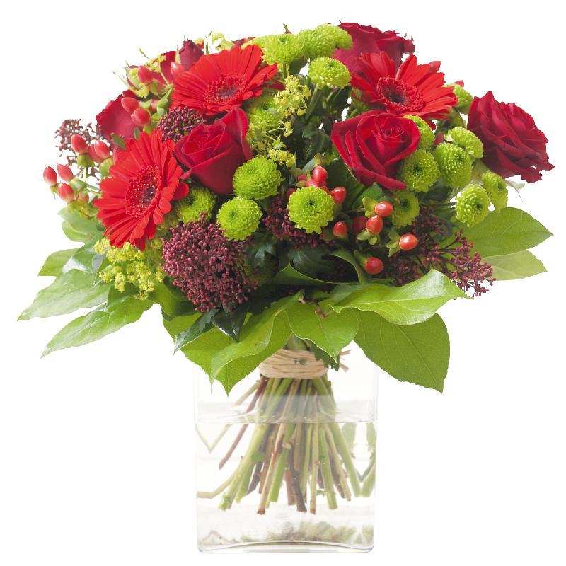 Bouquet de fleurs True Passion
