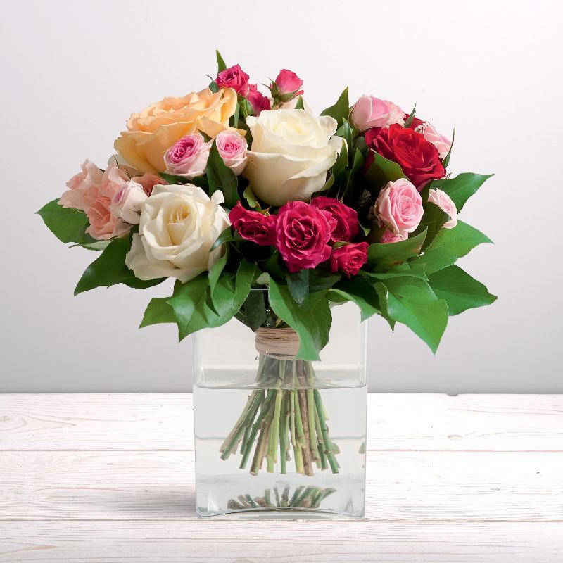 Bouquet de fleurs True Love