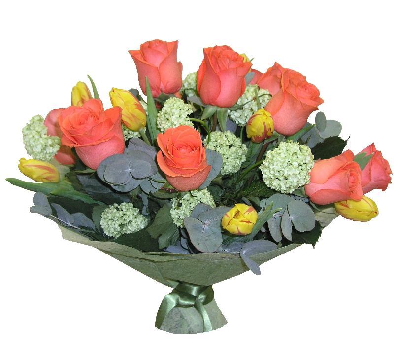 Bouquet de fleurs Coral Reef