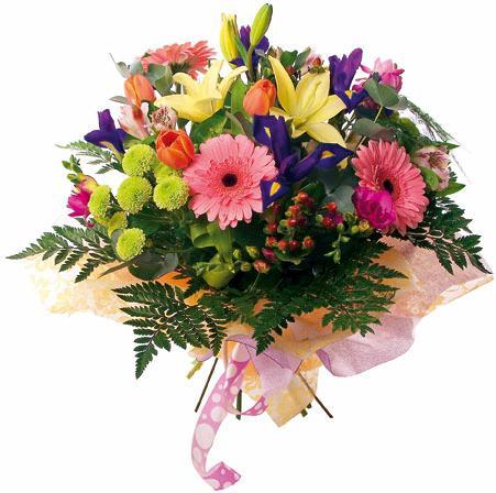 Bouquet de fleurs Kaleidoscope
