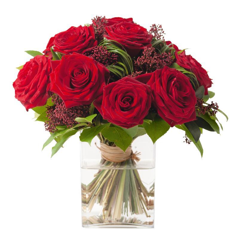 Bouquet de fleurs Red Velvet