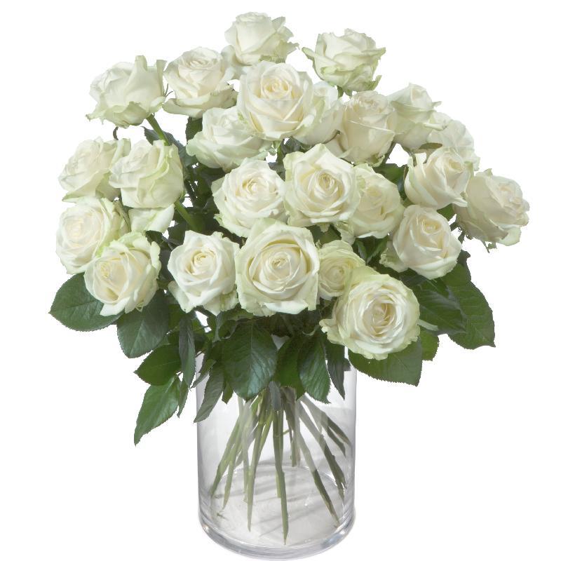 Bouquet de fleurs Bunch of White Roses
