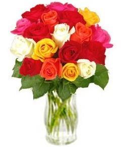 """Bouquet de fleurs Bouquet of roses """"Allure"""" (without vase)"""