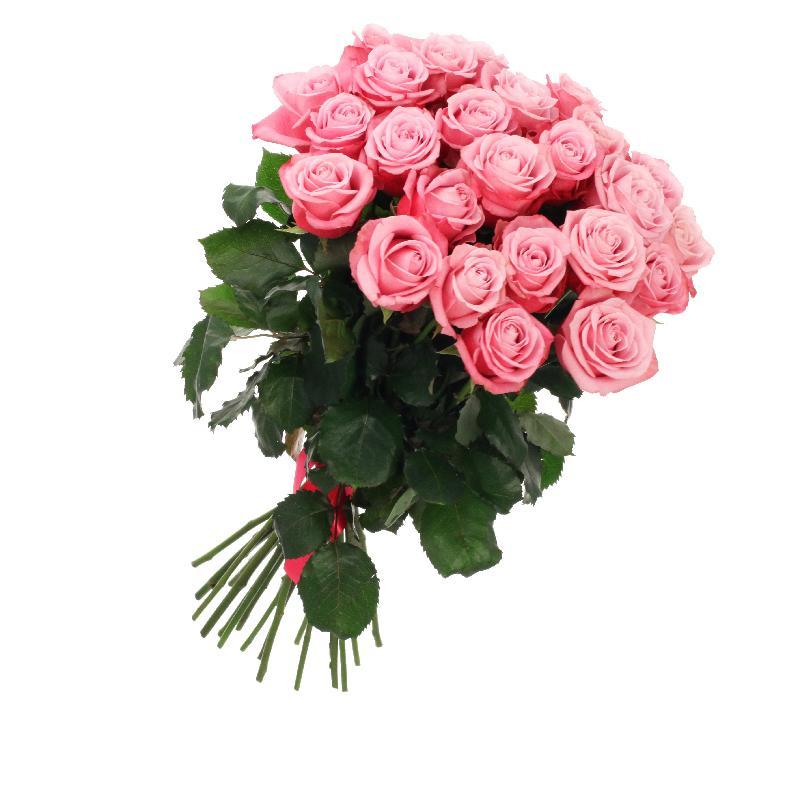 Bouquet de fleurs Bunch of 21 pink roses
