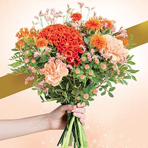 Bouquet de fleurs Couleurs d'octobre