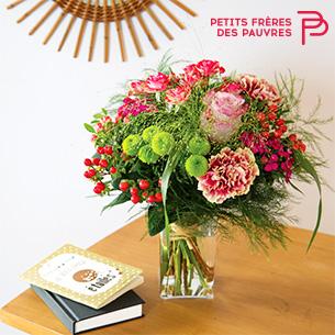 Bouquet de fleurs Lueur de février Collection Hommes