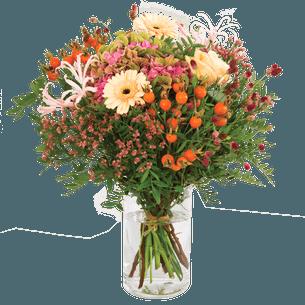 Bouquet de fleurs Couleurs d'automne