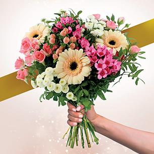 Bouquet de fleurs Parfum de juin Amour