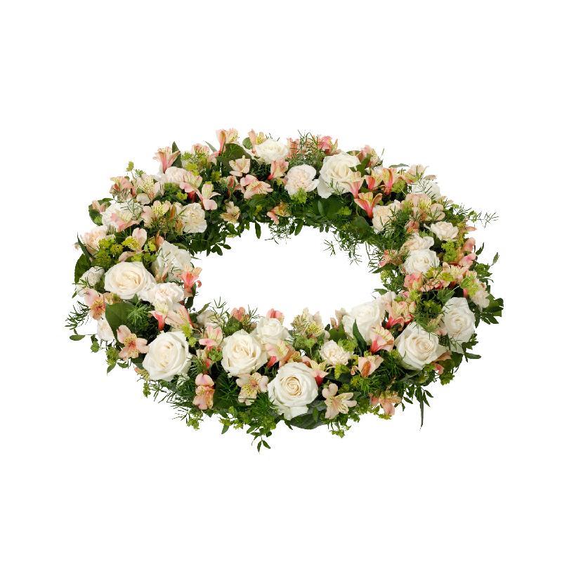Bouquet de fleurs Wreath, Omtanke