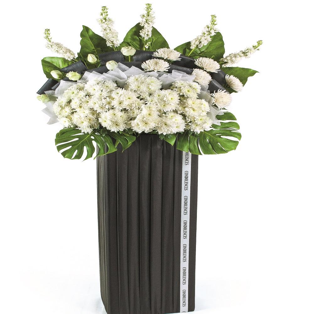 Bouquet de fleurs Funeral Standing Arrangement
