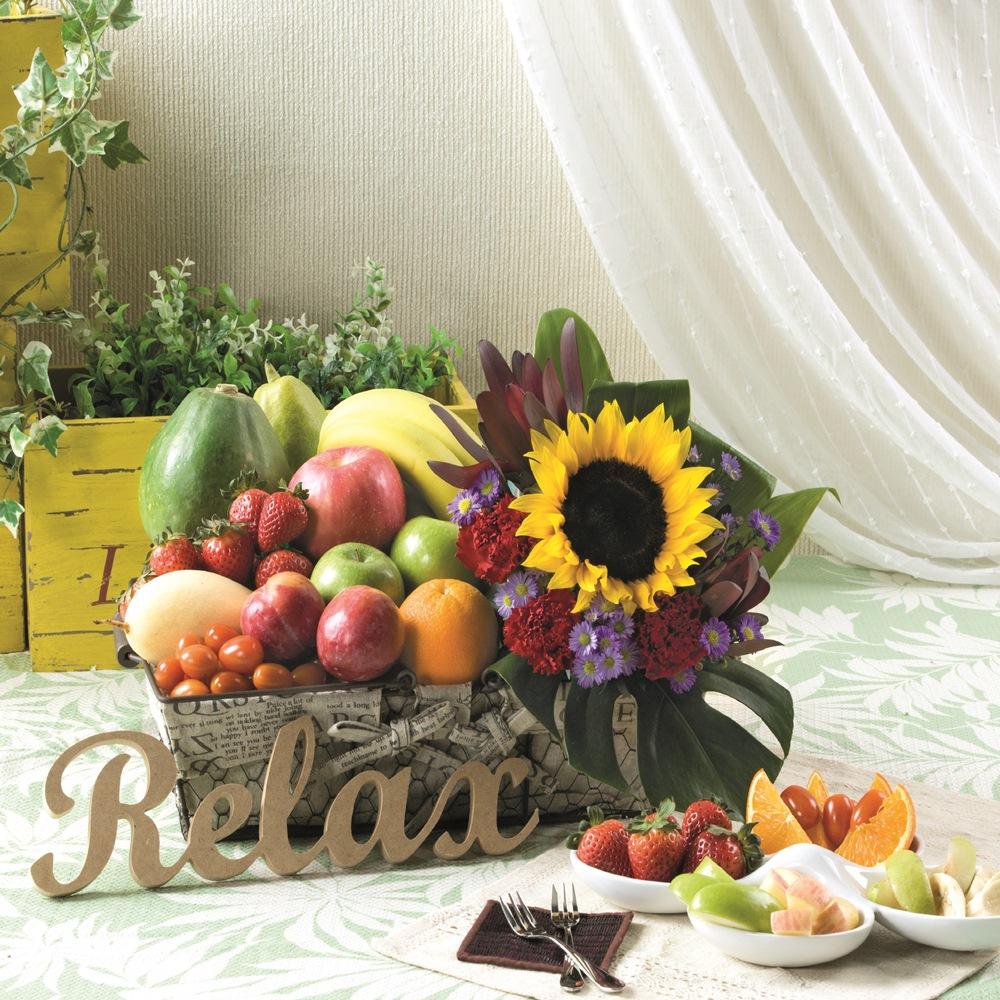 Bouquet de fleurs Fruit Baskets