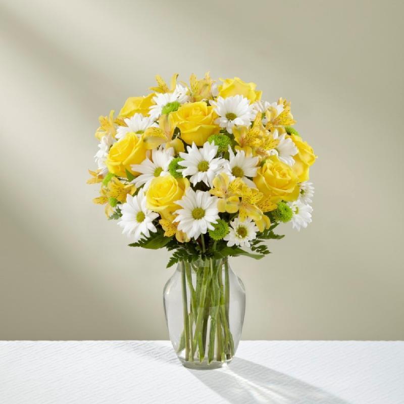 Bouquet de fleurs The Sunny Sentiments Bouquet - VASE INCLUDED