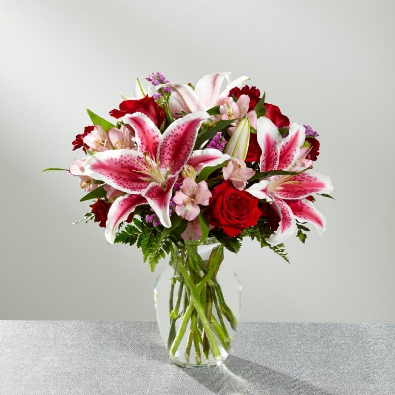 Bouquet de fleurs High Style Bouquet- VASE INCLUDED