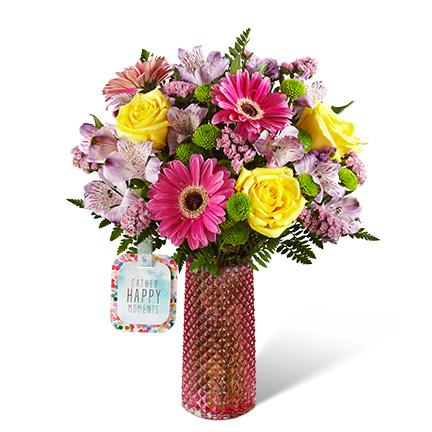 Bouquet de fleurs HMJ - The FTD® Happy Moments™ Bouquet by Hallmark