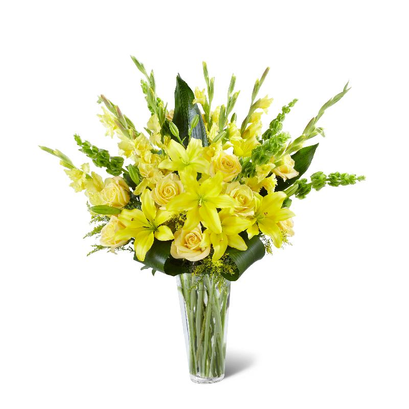 Bouquet de fleurs S34-5015 - The FTD® Glowing Ray™ Bouquet - Deluxe