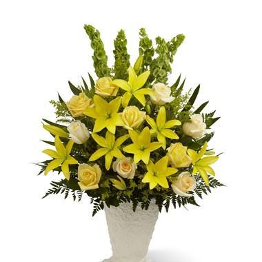 Bouquet de fleurs Golden Memories Arrangement