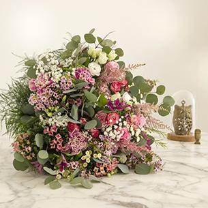 Bouquet de fleurs Bonheur Intense Naissance