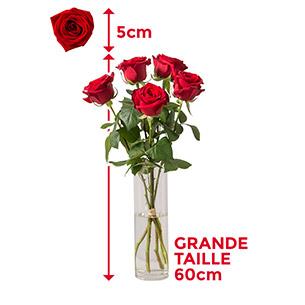 Bouquet de roses Cara Anniversaire