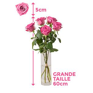 Bouquet de roses Câlin Anniversaire