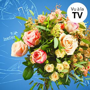 Bouquet de fleurs Tendre surprise Saint-Valentin