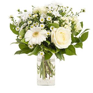 Fleurs et cadeaux Balade d'été et son vase offert Mariage invité