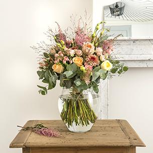 Bouquet de fleurs Bohème chic Amour