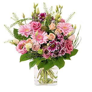 Bouquet de fleurs Bois de rose Anniversaire