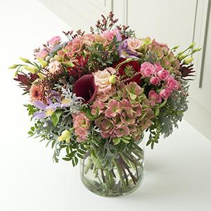 Bouquet de fleurs Clé des songes Anniversaire