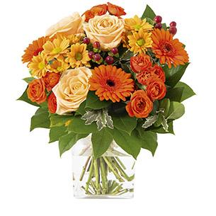 Bouquet de fleurs Capucine Anniversaire