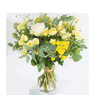 Bouquet de fleurs Cristal Fête des grands-pères