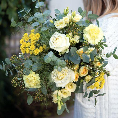 Bouquet de fleurs Cristal