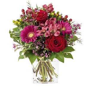 Bouquet de fleurs Grenadine Anniversaire