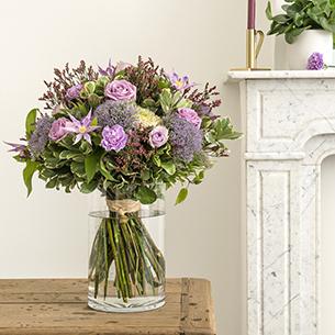 Bouquet de fleurs Jardin secret Amour