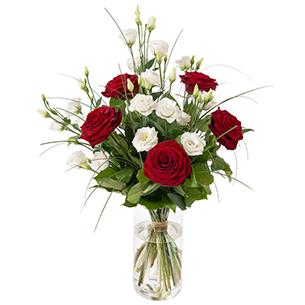 Bouquet de fleurs So chic Anniversaire