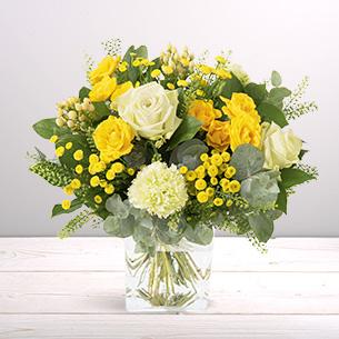 Bouquet de fleurs Sunshine Remerciements
