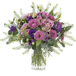Bouquet de fleurs Violine Anniversaire