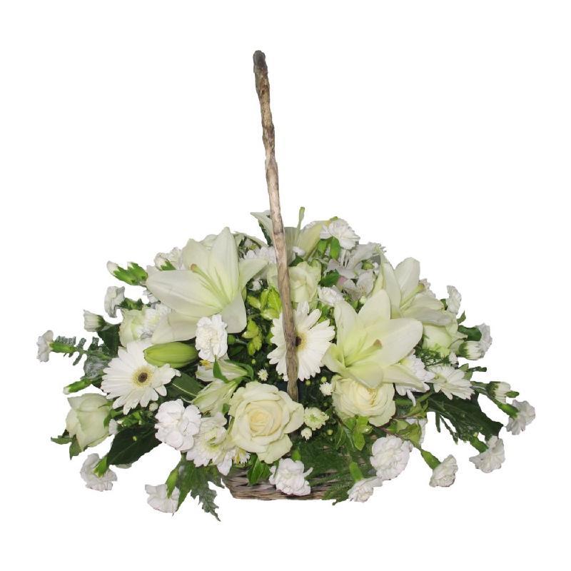 Bouquet de fleurs Bianca